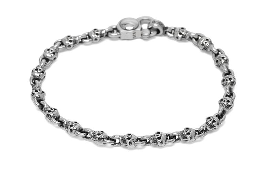 Good Art Jack Skull Crusher Bracelet Sterling