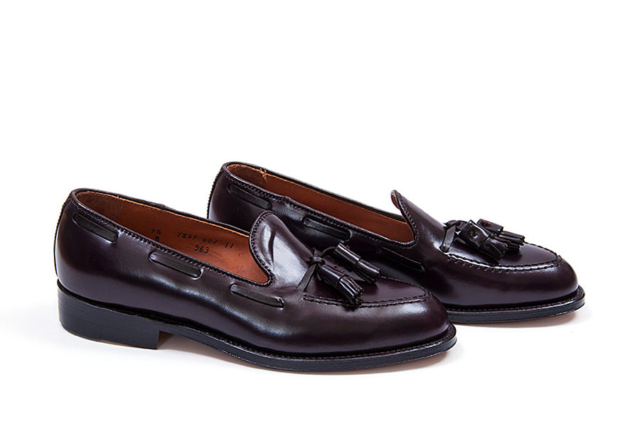 Alden Tassel Loafer Color 8 Shell Cordovan 563