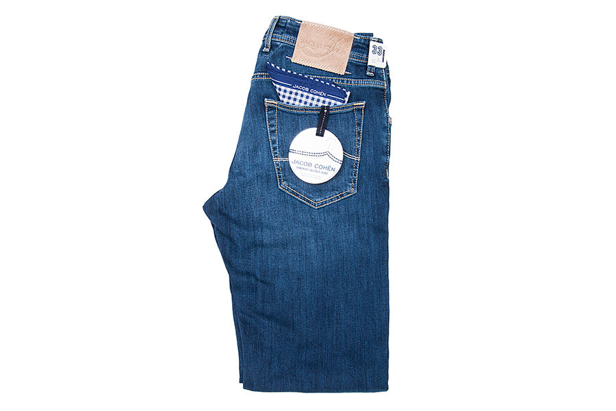 Jacob Cohën J622 QS Jeans in Light wash