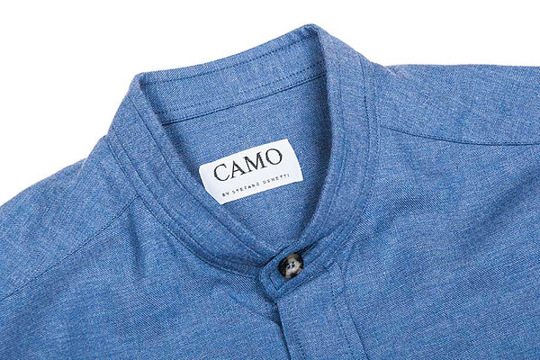 CAMO Albino Blue Fire Shirt
