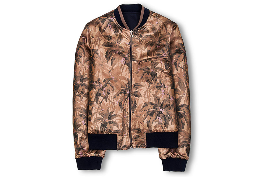 Vinny Cotton Reversible Bomber Jacket
