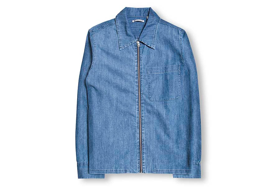 Our Legacy Drip Shirt-Washed Denim 1183DSWD