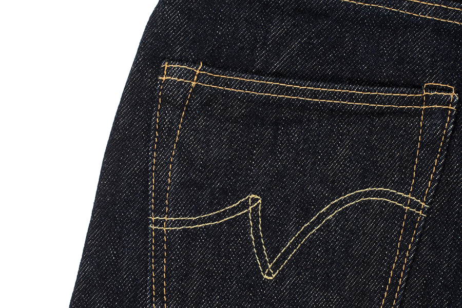 21oz Selvedge 634 Straight Cut Jeans - Indigo