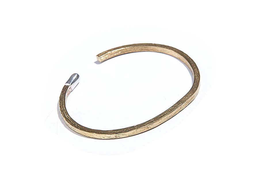 M. Cohen Oxidized Match Bangle