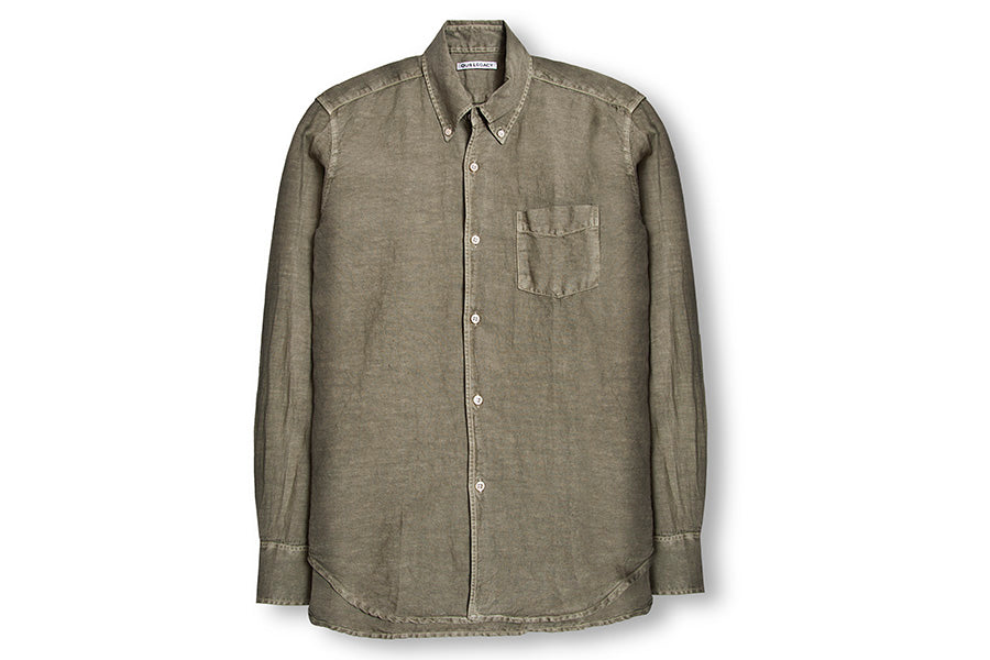 Our Legacy 1950'S Shirt-Olive 11831SOC