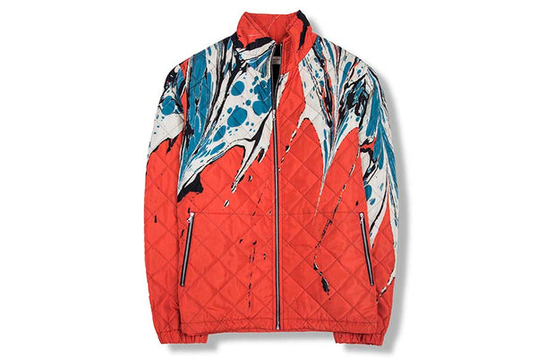 Dries Van Noten Vesley Red Jacket