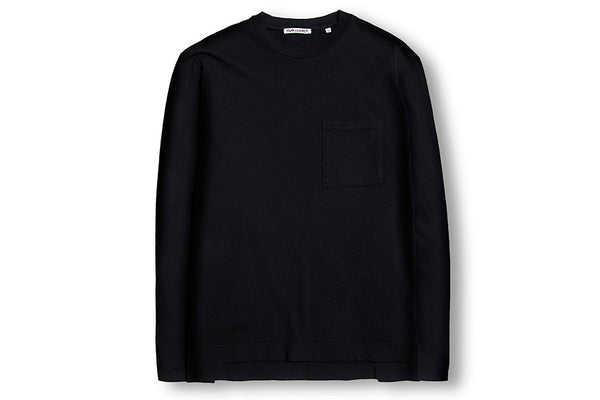 Our Legacy Box Longsleeve Army Jersey-Black COBLBAJ