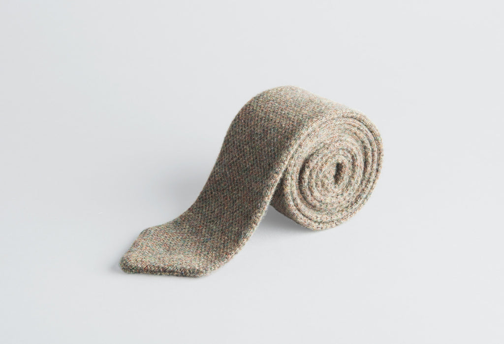 Petronius Knitted Beige Tie