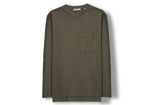 Our Legacy Box Longsleeve Army Jersey Olive 1187BLOAJ