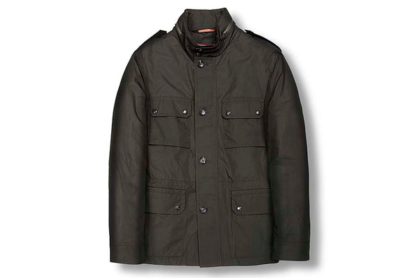 Luciano Barbera Military Green Jacket