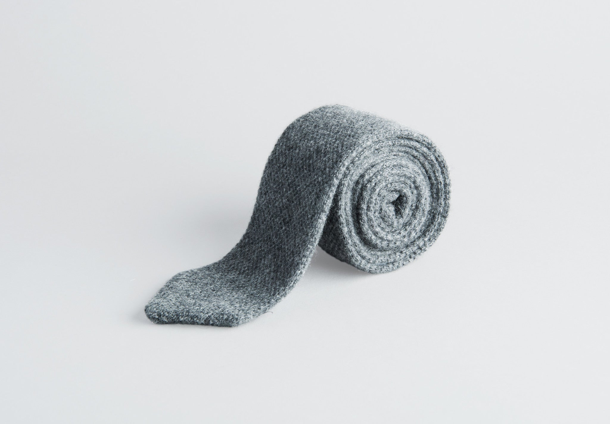 Petronius Knitted Grey Tie