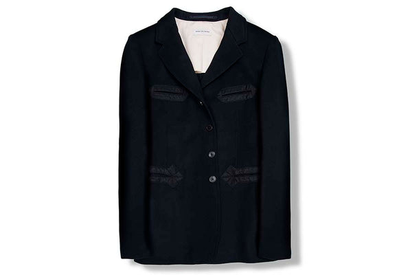 Dries Van Noten Baldasar Navy Jacket