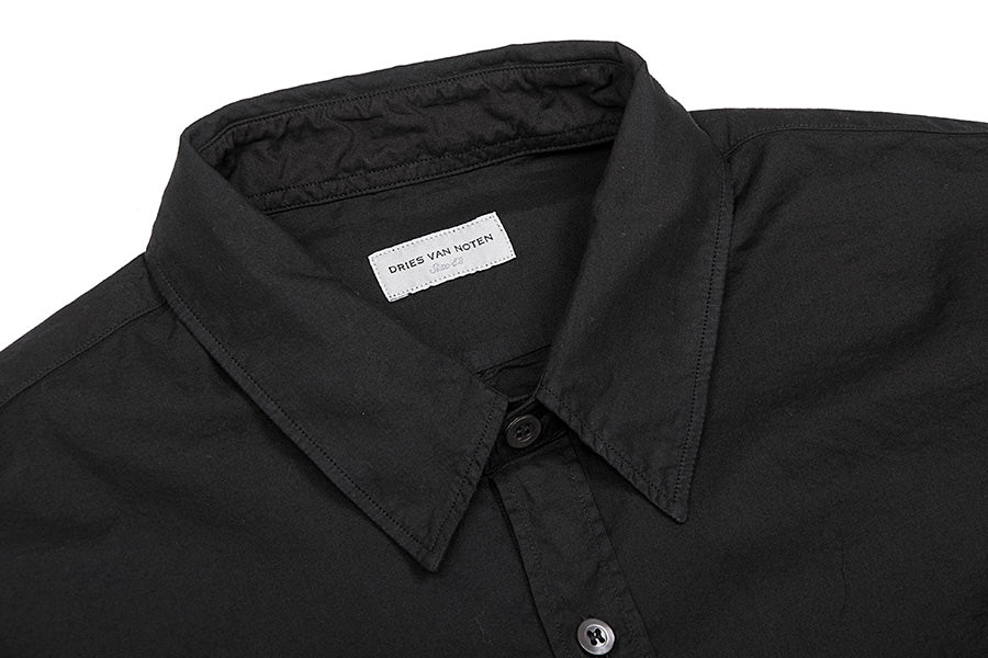 Corbin Oxford Black Shirt