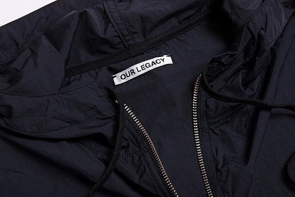 Our Legacy Cropped Lizard Parka-Navy COCLPNN