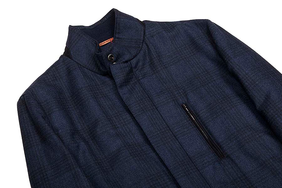 Luciano Barbera Favorita Jacket Navy