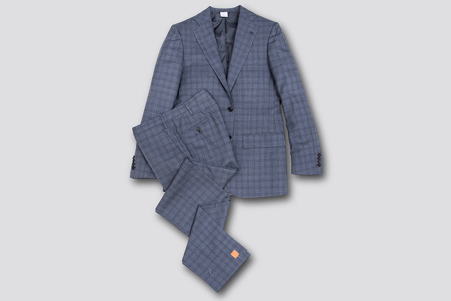 Kiton Grey Midnight Suit