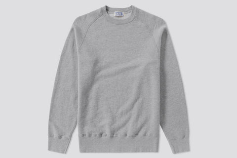 Velva Sheen Freedom Crew Sweat Grey
