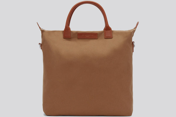 WANT Les Essentiels  O'hare Shopper Tote Cognac