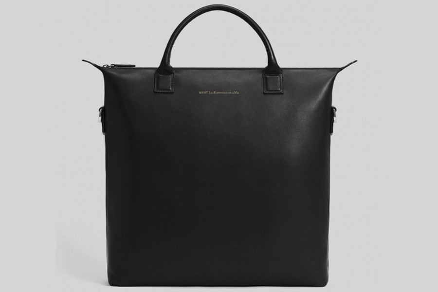 WANT Les Essentiels Soft Shopper Leather Tote Bag