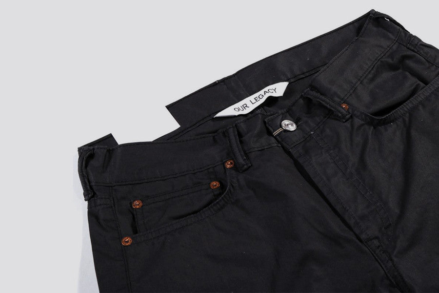 Our Legacy First Cut Washed Black