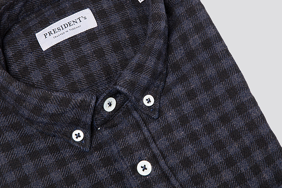 PRESIDENT's Shirt Chatham Small Check Coupe