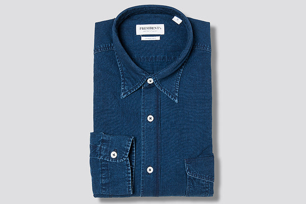 PRESIDENT's Shirt Sunrise Jap Selvedge Chambray