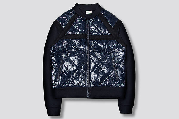 Dries Van Noten  Helmer quilted shell bomber jacket