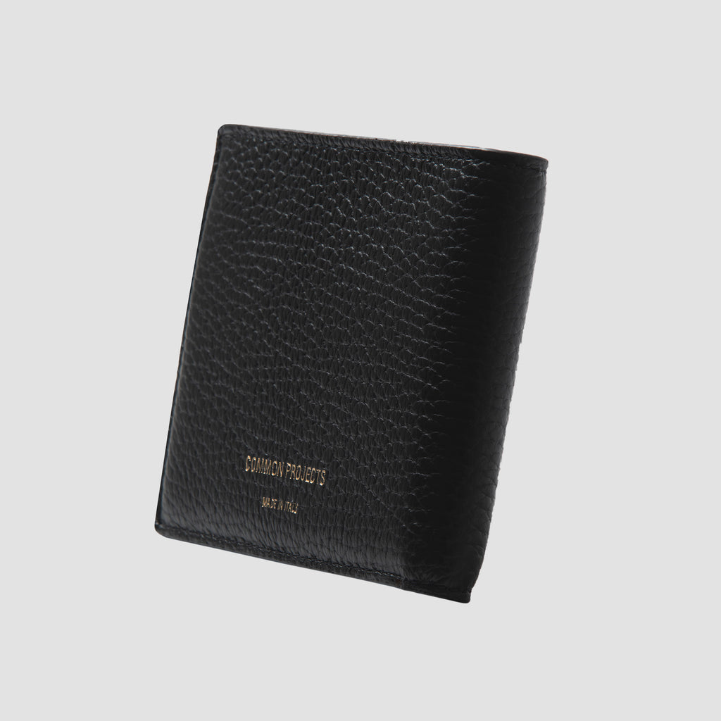 Common Projects Standard Wallet Black Textured
