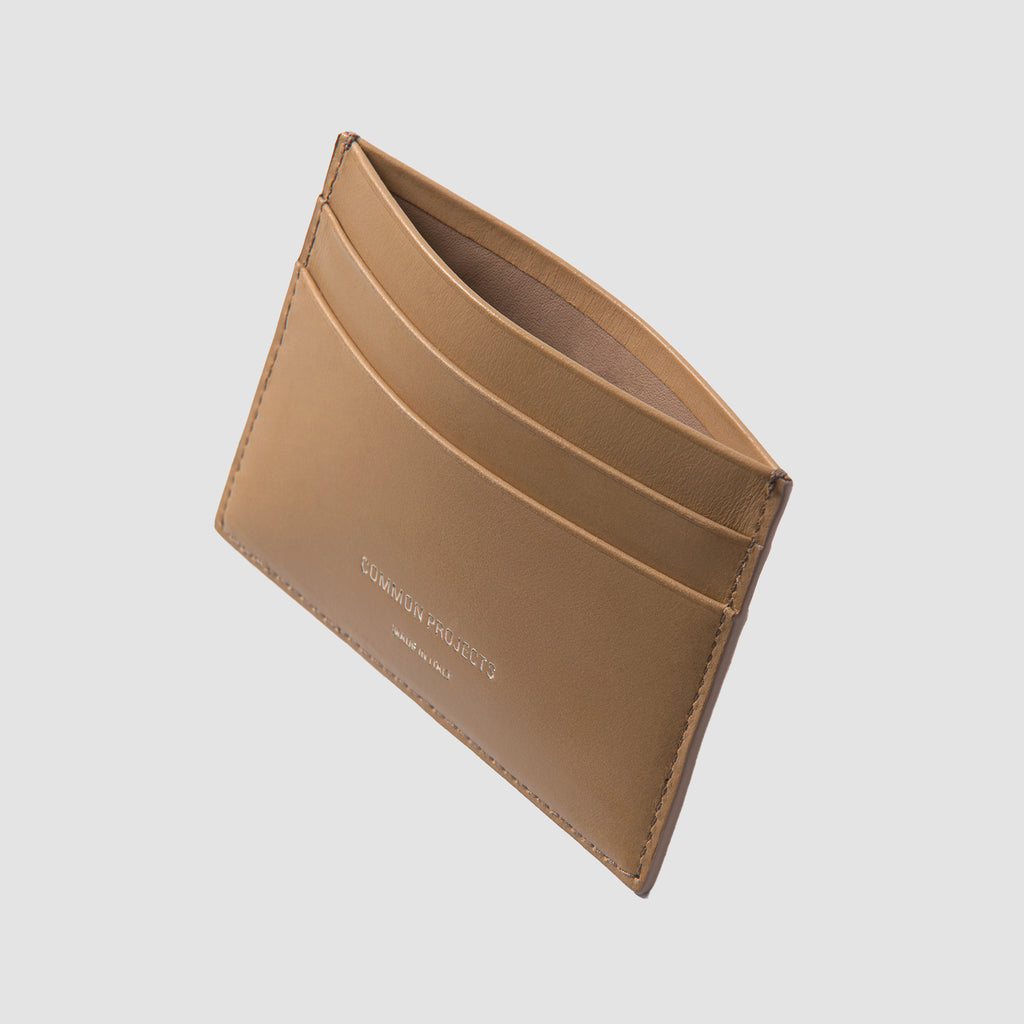 Common Projects Multi Card Holder Tan