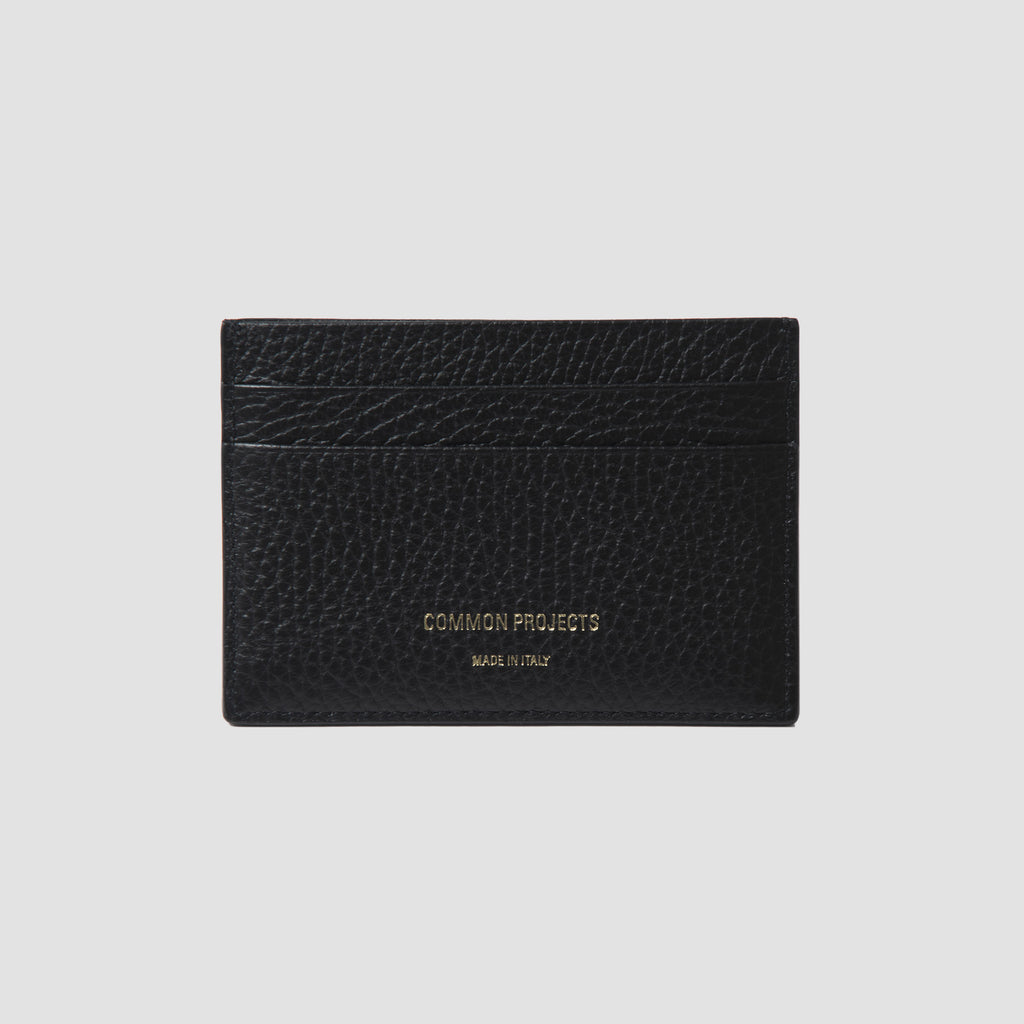 Common Projects Multi Card Holder Black Textured