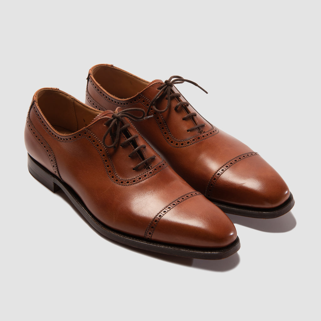 Crockett & Jones Westbourne Chestnut Burnished Calf