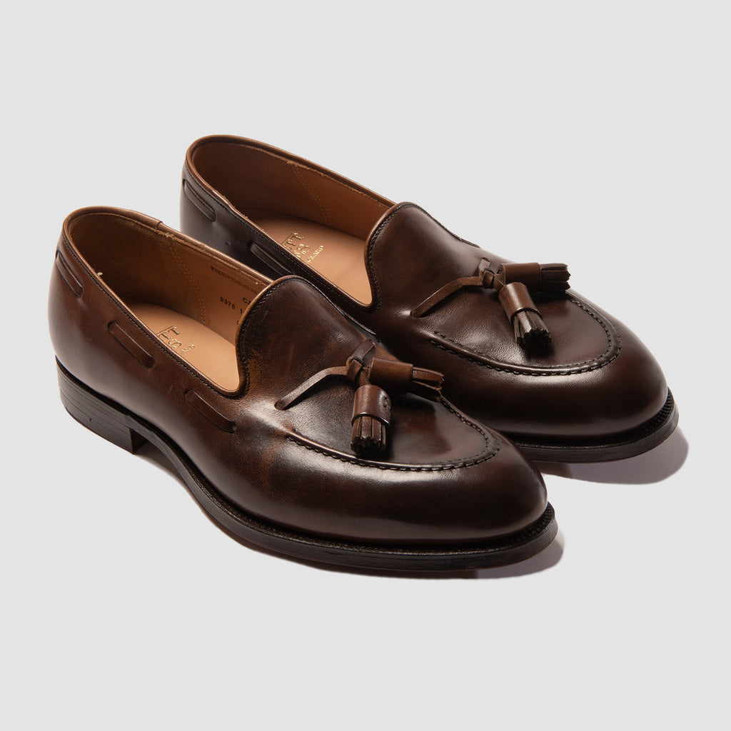 Crockett and Jones Cavendish Dark Brown Burnished Calf