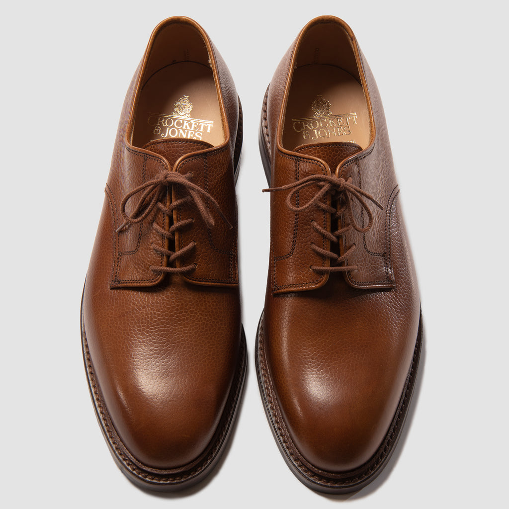 Crockett & Jones Grasmere Tan Scotch Country Grain