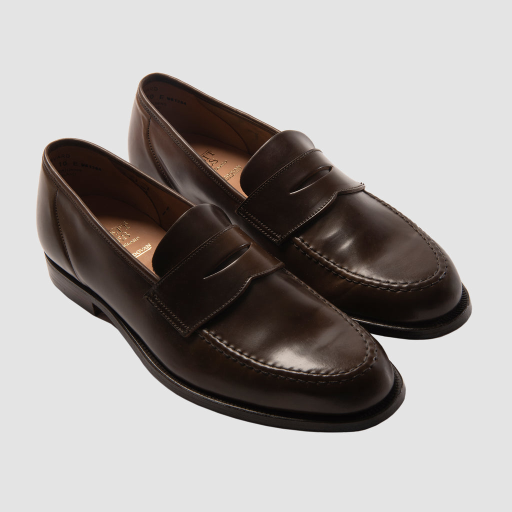 Crockett & Jones Harvard Dark Brown Cordovan