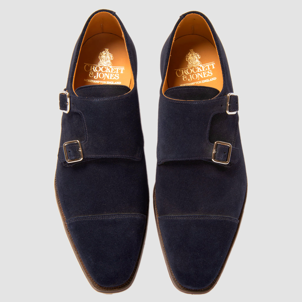 Crockett & Jones Lowndes Ocean Suede