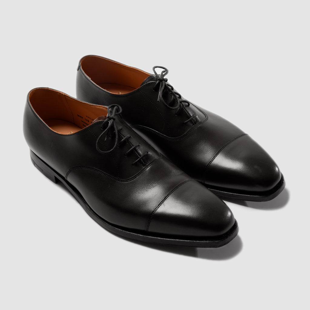 Crockett & Jones Hallam Black Calf