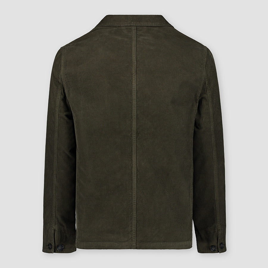 Officine Générale Chore Jacket Corduroy Olive Night