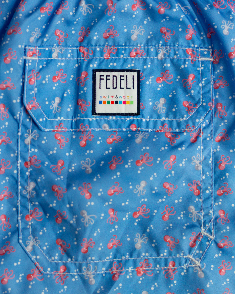 Fedeli Madeira Airstop Octopus Blue