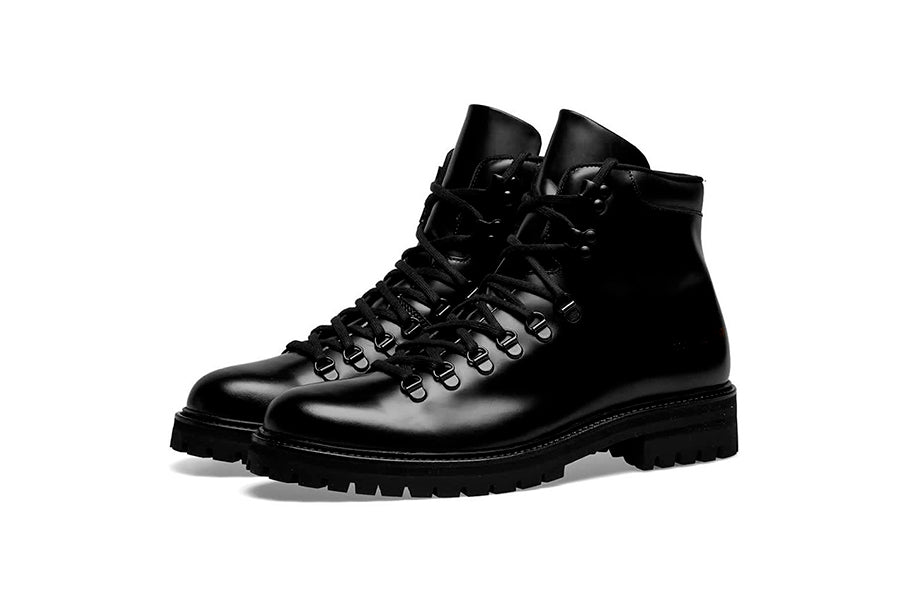Common Projects Hiking Boot Leather Black