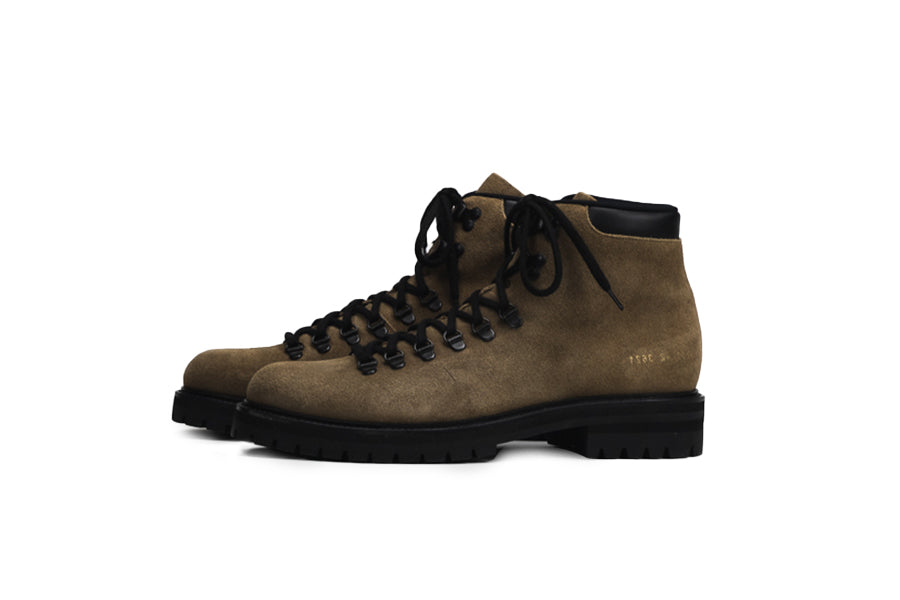 Common Projects Hiking Boot Suede Brown