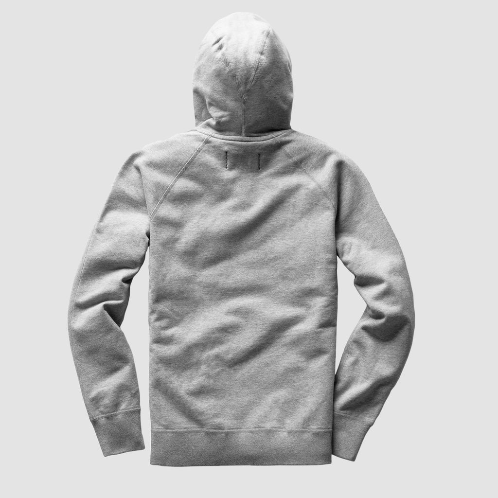 Reigning Champ Lightweight Terry Pullover Hoodie Heather Grey