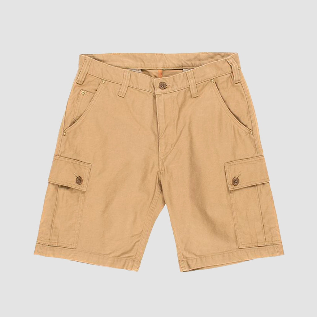 Iron Heart IH-724 12oz Swedish Serge Camp Shorts Beige