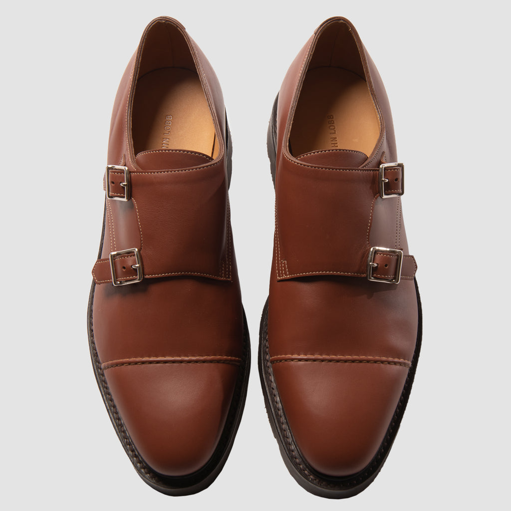John Lobb William II Kendal Calf Light Brown