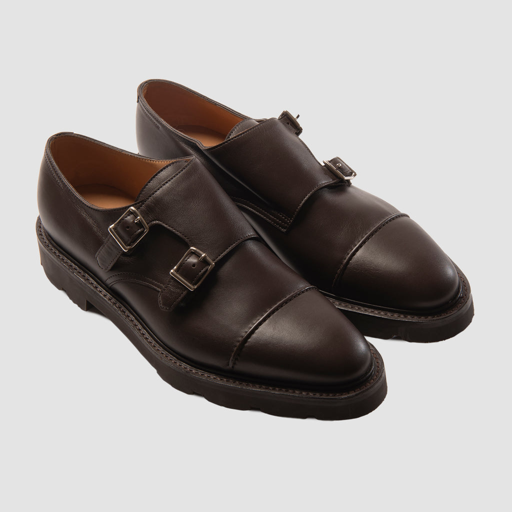 John Lobb William II Kendal Calf Dark Brown