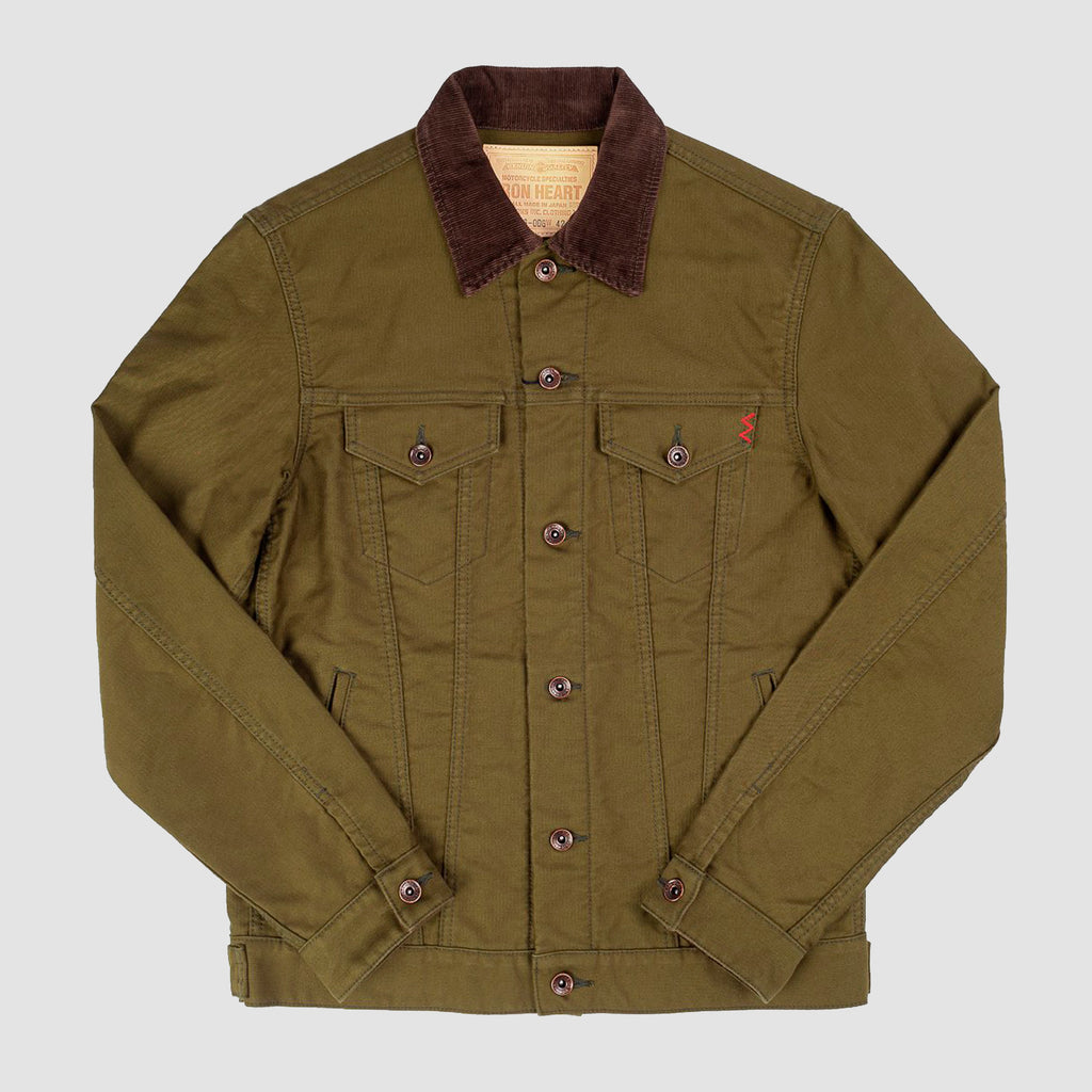Iron Heart Whipcord Modified Type III Jacket Olive Drab Green
