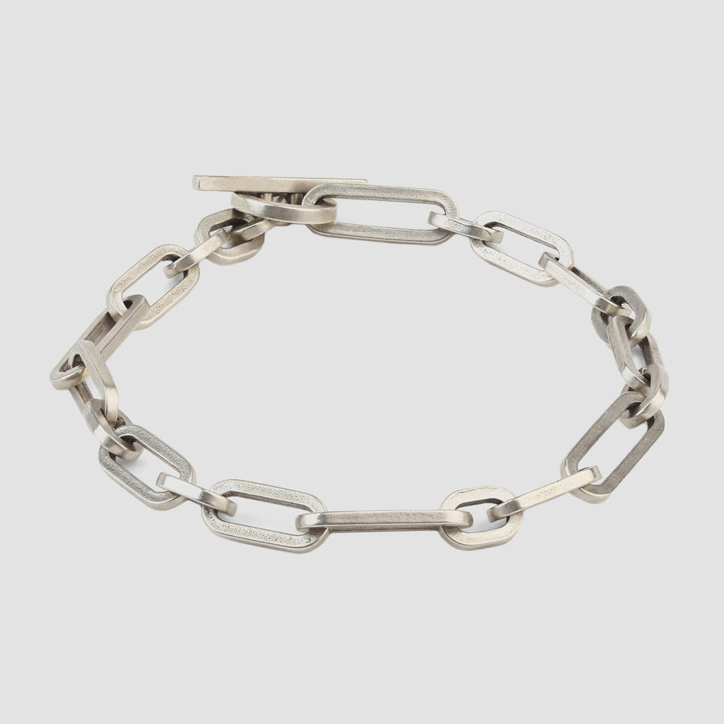 M. Cohen The Large Mix Cuadro Bracelet in Sterling Silver