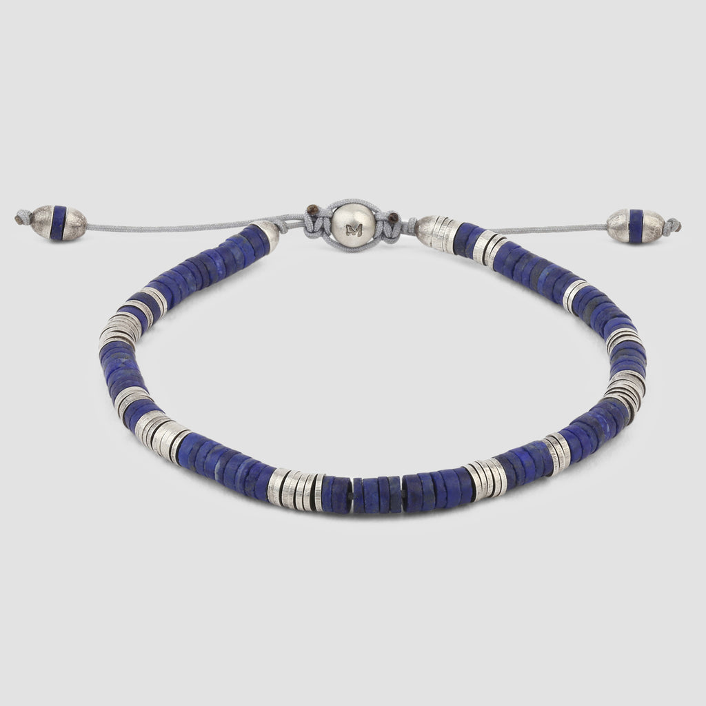M. Cohen Lapis Bracelet 1 with Sterling Silver