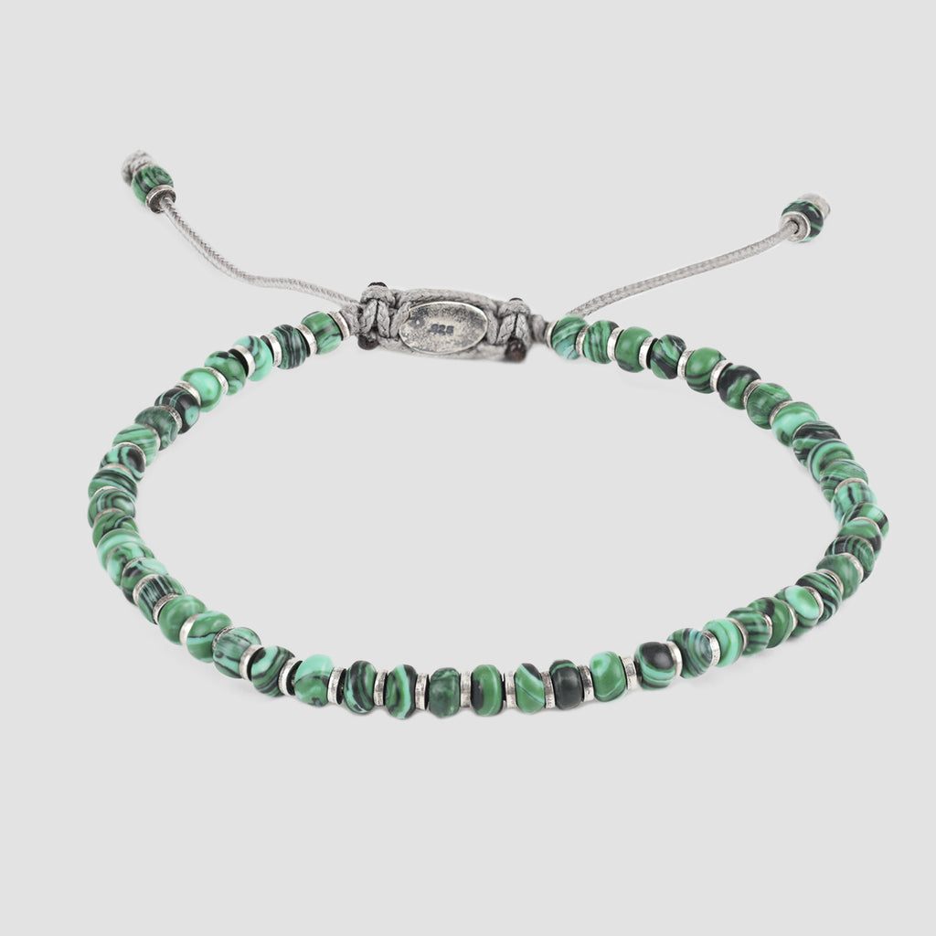 M. Cohen The Axis Malachite Bracelet