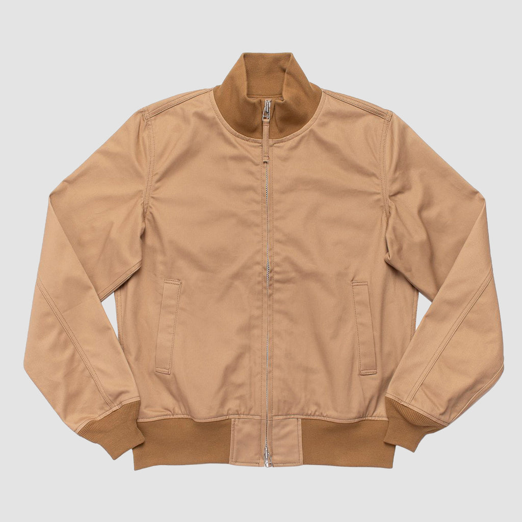 Iron Heart 10.5oz Chino Tanker Jacket Khaki