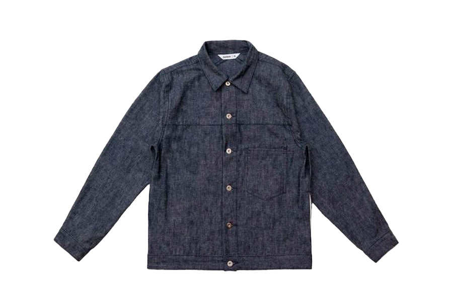 3sixteen Type 1s Jacket Indigo & White